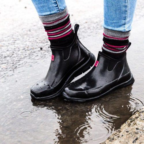 Bottillon de pluie en néoprène et caoutchouc Pilote et Filles | Women rain anckle boots