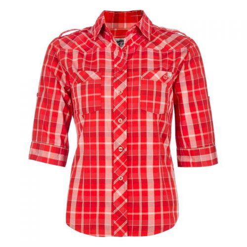 Pilote et Filles | Chemise de travail en coton pour femme | Cotton plaid shirt