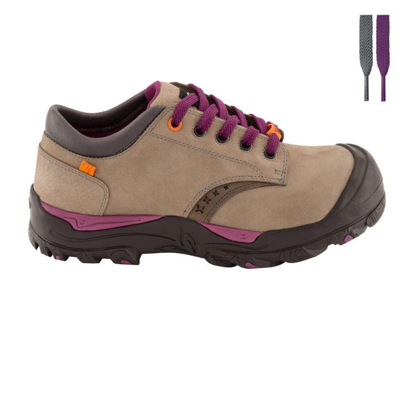 Chaussure de securite pour femme pilote et filles - Chaussure de securite confortable et legere pour femme ...