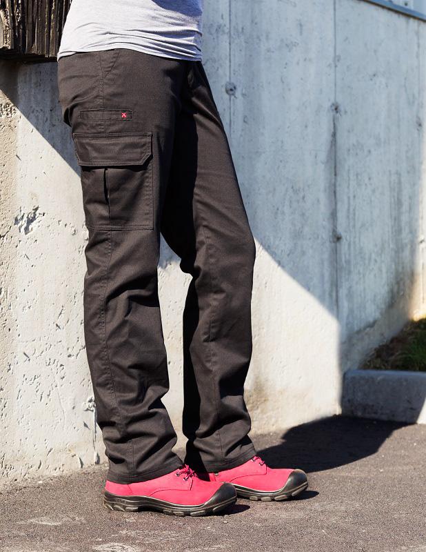 pantalon de travail cargo extensible femme pilote et filles. Black Bedroom Furniture Sets. Home Design Ideas